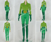 Batman And Robin Poison Ivy Cosplay Costume Green Uniform Outfit High Quality