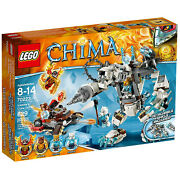 Lego Legends Of Chima 70223 Icebiteand039s Claw Driller New In Box 70223 629pcs