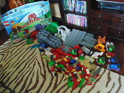 Lego Duplo Thomas The Tank Engne Lot Bridge And Tunnel Set And Much More