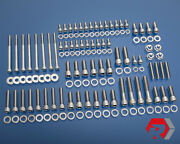 Sbc Small Block Chevy W/ Vortec Heads Stainless Steel Bolt Kit 062/096 5.7l 350