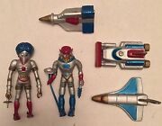 Vintage/antique Toy 👾 Alien/space Sci-fi Figures And Ships - 🎂 Cake Toppers