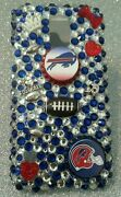 Buffalo Bills Bling Case For Iphone 4s,5,5s,5c,6, Samsung Galaxy S3,s4 Ands5