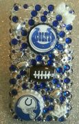 Indianapolis Colts Nfl Bling Case 4 Iphone 4s,5,5s,5c,6, Samsung Galaxy S3,s4ands5