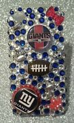 New York Giants Nfl Bling Case 4 Iphone 4s,5,5s,5c,6, Samsung Galaxy S3,s4ands5