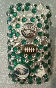 Philadelphia Eagles Nfl Bling Case 4 Iphone 4s,5,5s,5c,6,samsung Galaxy S3,s4ands5
