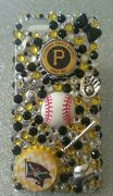 Pittsburgh Pirates Mlb Bling Case 4 Iphone 4s,5,5s,5c,6,samsung Galaxy S3,s4ands5