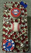 Philadelphia Phillies Mlb Bling Case Iphone 4s,5,5s,5c,6,samsung Galaxy S3,s4ands5