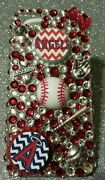 Los Angeles Angels Mlb Bling Case Iphone 4s,5,5s,5c,6,samsung Galaxy S3,s4ands5