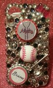 Atlanta Braves Mlb Bling Case Iphone 4s,5,5s,5c,6,samsung Galaxy S3,s4ands5