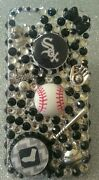 Chicago White Sox Mlb Bling Case Iphone 4s,5,5s,5c,6,samsung Galaxy S3,s4ands5