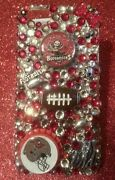 Tampa Bay Buccaneer Nfl Bling Case 4 Iphone 4s,5,5s,5c,6,samsung Galaxy S3,s4ands5