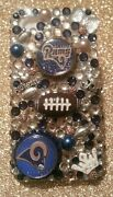 St Louis Rams Nfl Bling Case 4 Iphone 4s,5,5s,5c,6,samsung Galaxy S3,s4ands5