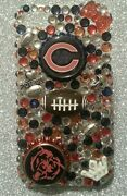 Chicago Bears Nfl Bling Case 4 Iphone 4s,5,5s,5c,6,samsung Galaxy S3,s4ands5