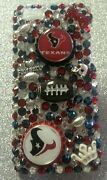 Houston Texans Nfl Bling Case 4 Iphone 4s,5,5s,5c,6,samsung Galaxy S3,s4ands5