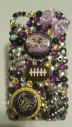 Baltimore Ravens Nfl Bling Case 4 Iphone 4s,5,5s,5c,6,samsung Galaxy S3,s4ands5