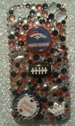 Denver Broncos Nfl Bling Case 4 Iphone 4s,5,5s,5c,6,samsung Galaxy S3,s4ands5