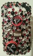 Atlanta Falcons Nfl Bling Case 4 Iphone 4s,5,5s,5c,6,samsung Galaxy S3,s4ands5