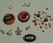 Cleveland Browns Nfl Bling Case 4 Iphone 4s,5,5s,5c,6,samsung Galaxy S3,s4ands5