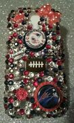New England Nfl Bling Case 4 Iphone 4s,5,5s,5c,6,samsung Galaxy S3,s4ands5