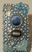 Detroit Lions Nfl Bling Case 4 Iphone 4s,5,5s,5c,6,samsung Galaxy S3,s4ands5