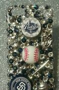 San Diego Padres Mlb Bling Case Iphone 4s,5,5s,5c,6,samsung Galaxy S3,s4ands5