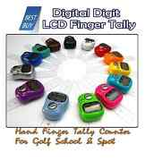 Digital Digit Lcd Electronic Hand Finger Tally Counter For Golf School And Spot