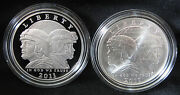 Lot Of 2011-p And S United States Army Commemorative Silver Dollars - 2 Usa Coins
