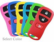 Best 2 Replacement Keyless Entry 3 Button Remote Key Fob Alarm For Nissan Colors