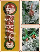 Santa Candy Cane Holder - Craft Books Make Yours A Crafty Christmas Iii