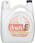 New Dreft Liquid 2x Concentrated Laundry Detergent 96 Loads Free Shipping