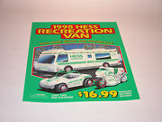 Hess 1998 Recreation Van With Dune Buggy And Motorcycle Regular Vertical Poster