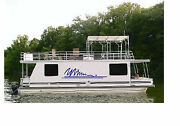 Houseboat Graphic Kit Vinyl Decal Boat Stickers 16x80 2