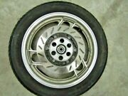 Yamaha Radian Yx600 Front Wheel With Tire And Left Brake Rotor Fits 1986 Andndash 1990