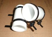 White Yamaha Banshee Quad Exhaust Pipe Clamps All Years Fmfdg Factory Atv