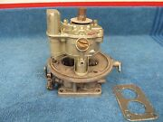 1949 - 50and039s Lincoln Ford Holley 2 Barrel Teapot Carburetor Nice 515