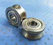 New 5pcs V Groove 103014mm Track Roller Guide Vgroove Sealed Ball Bearing