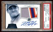 Psa 9 Matt Harvey National Treasures Rc Auto D 02/10 Patch Logo 4 Color Pop 1