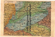 66 Lake Erie 1906 Ohio Historic Antique Map Painting Poster Print