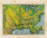 Map Of Us Us Map Us Map Art United States Wall Map Teacher Gifts History Gi