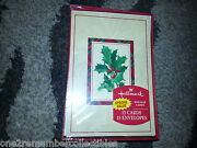 15 Hallmark Christmas Cards W/ Envelopes Hollyberry Holiday Cards Boxed Set New