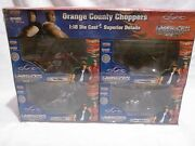 Orange County Choppers Motorcycles 4 Pack Model Toy Bikes
