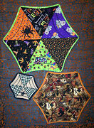 Come Into My Parlorspider Web Table Topper Quiltlcc230folk Art Patterneb