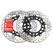 Brembo Serie Oro 320mm Floating Front Brake Discs Yamaha Yzf R1 15-20 78b40871