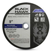 100 Pack 9x.075x7/8 Cut Off Wheel - Metal And Stainless Steel Cutting Discs