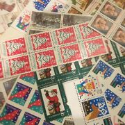 100 Face Christmas Stamps 4 Cent To Forever Dress Up Your Holiday Mail