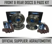 Oem Spec Front + Rear Discs And Pads For Ford Explorer Uk 4.0 1997-01