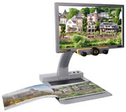 Mezzo - 16 Inch Lcd Color Auto Focus Video Magnifier For Low Vision Hd