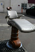 Vintage Weber Dentist Dental Electric Powered Chair-exam Oral Tattooing-tatoo