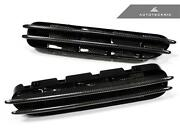 New Replacement Carbon Fiber Fender Gills For 06-10 Bmw M5 E60