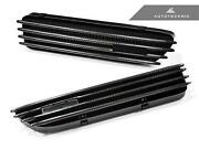 New Replacement Carbon Fiber Fender Gills For 01-06 Bmw M3 E46